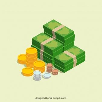 dinheiro; vendas